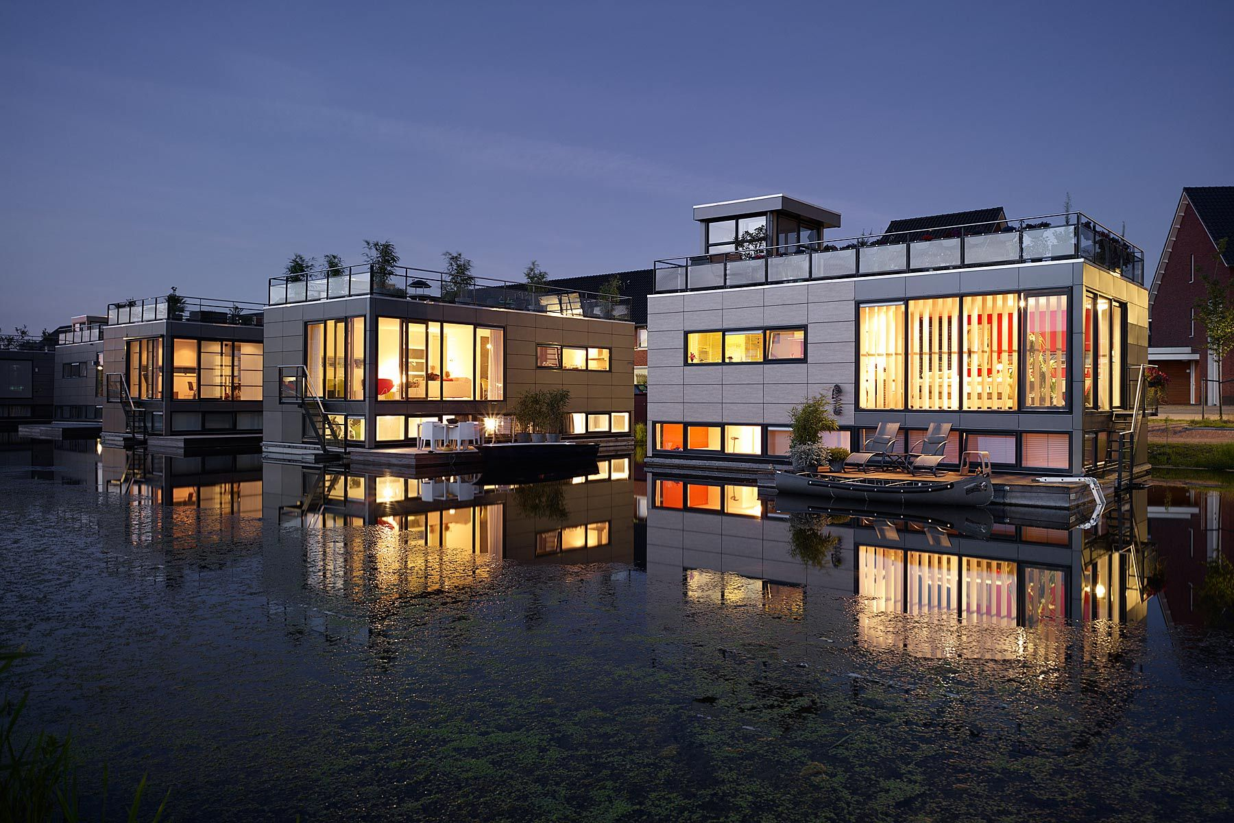 aquatecture floating homes