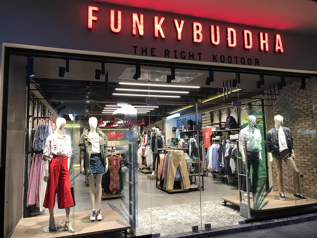 Η εταιρεία ρούχων Funky Buddha επέλεξε το τμήμα LG Business Solutions της  LG Electronics (LG) και την εταιρεία οπτικοακουστικών Mood Media Hellas d538ec881c7